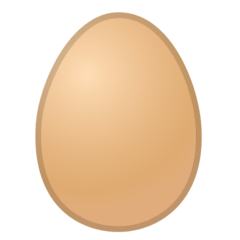 Egg Emoji on Google Android and Chromebooks