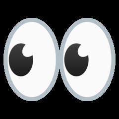Eyes Emoji on Google Android and Chromebooks