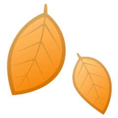 Fallen Leaf Emoji on Google Android and Chromebooks