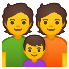 Family Emoji on Google Android and Chromebooks