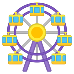Ferris Wheel Emoji on Google Android and Chromebooks