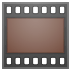 Film Frames Emoji on Google Android and Chromebooks