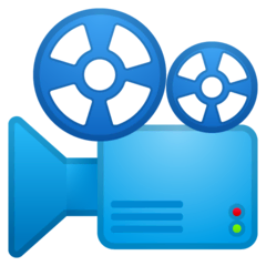 Film Projector Emoji on Google Android and Chromebooks