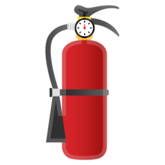 Fire Extinguisher Emoji on Google Android and Chromebooks