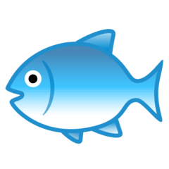 Fish Emoji on Google Android and Chromebooks