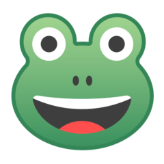 Frog Emoji on Google Android and Chromebooks