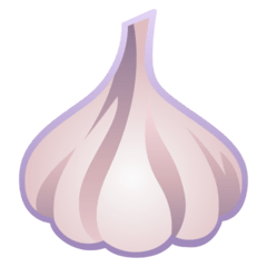 Garlic Emoji on Google Android and Chromebooks