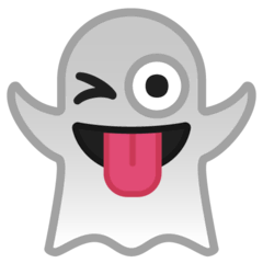 Ghost Emoji on Google Android and Chromebooks
