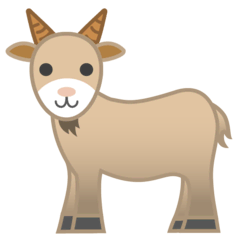 Goat Emoji on Google Android and Chromebooks
