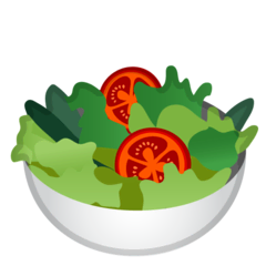 Green Salad Emoji on Google Android and Chromebooks