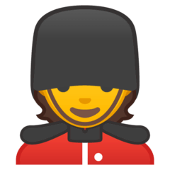 Guard Emoji on Google Android and Chromebooks