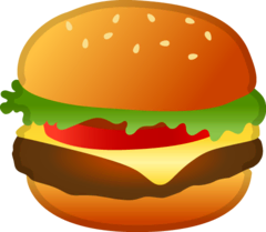 Hamburger Emoji on Google Android and Chromebooks