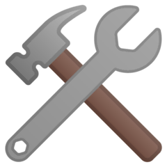 Hammer And Wrench Emoji on Google Android and Chromebooks