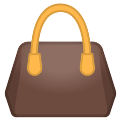 Handbag Emoji on Google Android and Chromebooks