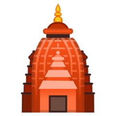 Hindu Temple Emoji on Google Android and Chromebooks