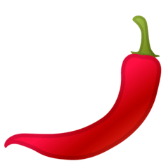 Hot Pepper Emoji on Google Android and Chromebooks