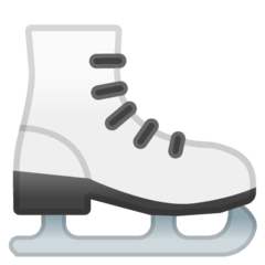 Ice Skate Emoji on Google Android and Chromebooks