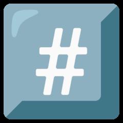 Keycap: # Emoji on Google Android and Chromebooks