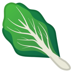Leafy Green Emoji on Google Android and Chromebooks