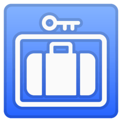Left Luggage Emoji on Google Android and Chromebooks