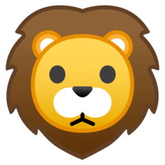 Lion Emoji on Google Android and Chromebooks