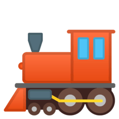 Locomotive Emoji on Google Android and Chromebooks
