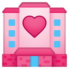 Love Hotel Emoji on Google Android and Chromebooks
