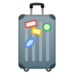 Luggage Emoji on Google Android and Chromebooks