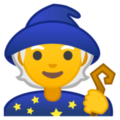 Mage Emoji on Google Android and Chromebooks