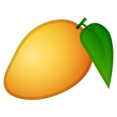 Mango Emoji on Google Android and Chromebooks
