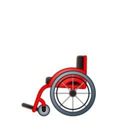 Manual Wheelchair Emoji on Google Android and Chromebooks