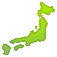 Map of Japan Emoji on Google Android and Chromebooks