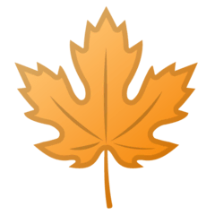 Maple Leaf Emoji on Google Android and Chromebooks