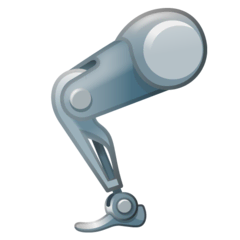Mechanical Leg Emoji on Google Android and Chromebooks