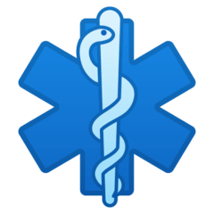 Medical Symbol Emoji on Google Android and Chromebooks
