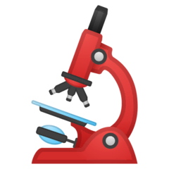 Microscope Emoji on Google Android and Chromebooks