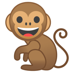 Monkey Emoji on Google Android and Chromebooks