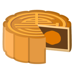 Moon Cake Emoji on Google Android and Chromebooks