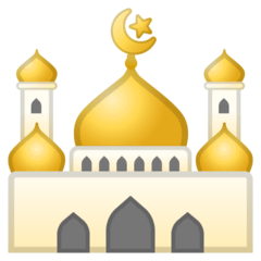 Mosque Emoji on Google Android and Chromebooks