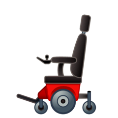 Motorized Wheelchair Emoji on Google Android and Chromebooks