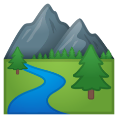 National Park Emoji on Google Android and Chromebooks