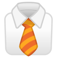 Necktie Emoji on Google Android and Chromebooks