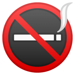 No Smoking Emoji on Google Android and Chromebooks
