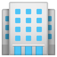 Office Building Emoji on Google Android and Chromebooks