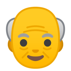 Old Man Emoji on Google Android and Chromebooks