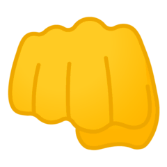 Oncoming Fist Emoji on Google Android and Chromebooks