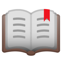 Open Book Emoji on Google Android and Chromebooks