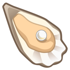Oyster Emoji on Google Android and Chromebooks
