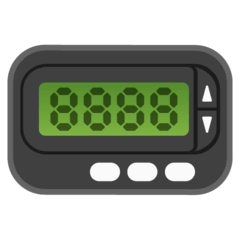 Pager Emoji on Google Android and Chromebooks