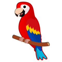 Parrot Emoji on Google Android and Chromebooks